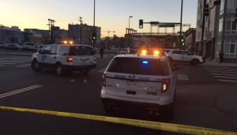 Tiroteo en centro de Denver deja un muerto y cuatro heridos