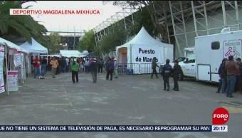 Deportivo Magdalena Mixhuca Refugio De Migrantes Cdmx
