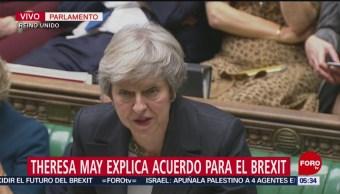 Desacuerdo por borrador del Brexit provoca renuncia de secretarios