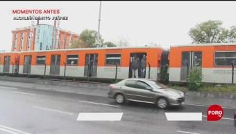 Desalojan a usuarios de la Línea 2 del Metro CDMX luego de conato de incendio