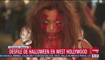 Desfile de Halloween en Estados Unidos