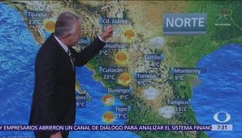 Despierta con Tiempo: Bajas temperaturas al amanecer en el norte de México