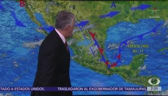 Despierta con Tiempo: Tormentas intensas en litoral del Golfo de México