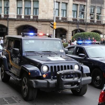 Despliegan a cinco mil policías en CDMX por toma de protesta de AMLO