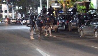 Detienen a siete personas en Mochomos de Querétaro