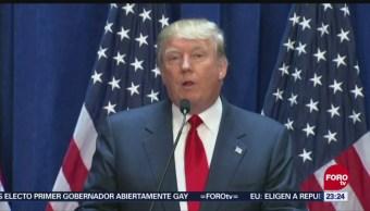 Donald Trump Estrategia Del Miedo EU