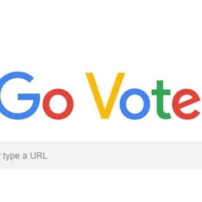 Google 'ordena' a internautas de Estados Unidos ir a votar mediante un Doodle