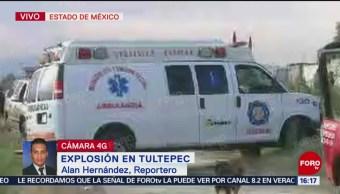 Dos muertos por explosión de pirotécnia en Tultepec, Estado de México