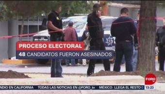 Durante el pasado proceso electoral fueron asesinados 152 políticos