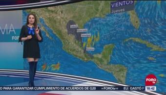 El clima a las 18:00 horas, con Mayte Carranco, 1 de noviembre de 2018