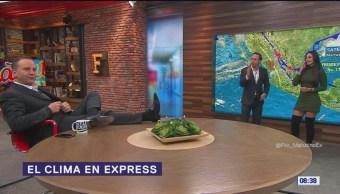 El clima en Express del 20 de noviembre de 2018
