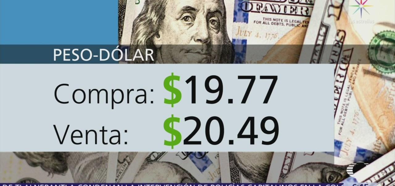 El dólar se vende en $20.49