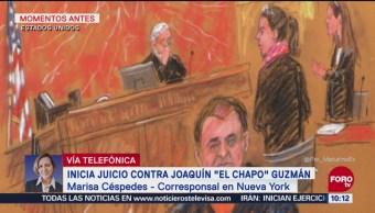 El juicio contra 'El Chapo' Guzmán en NY