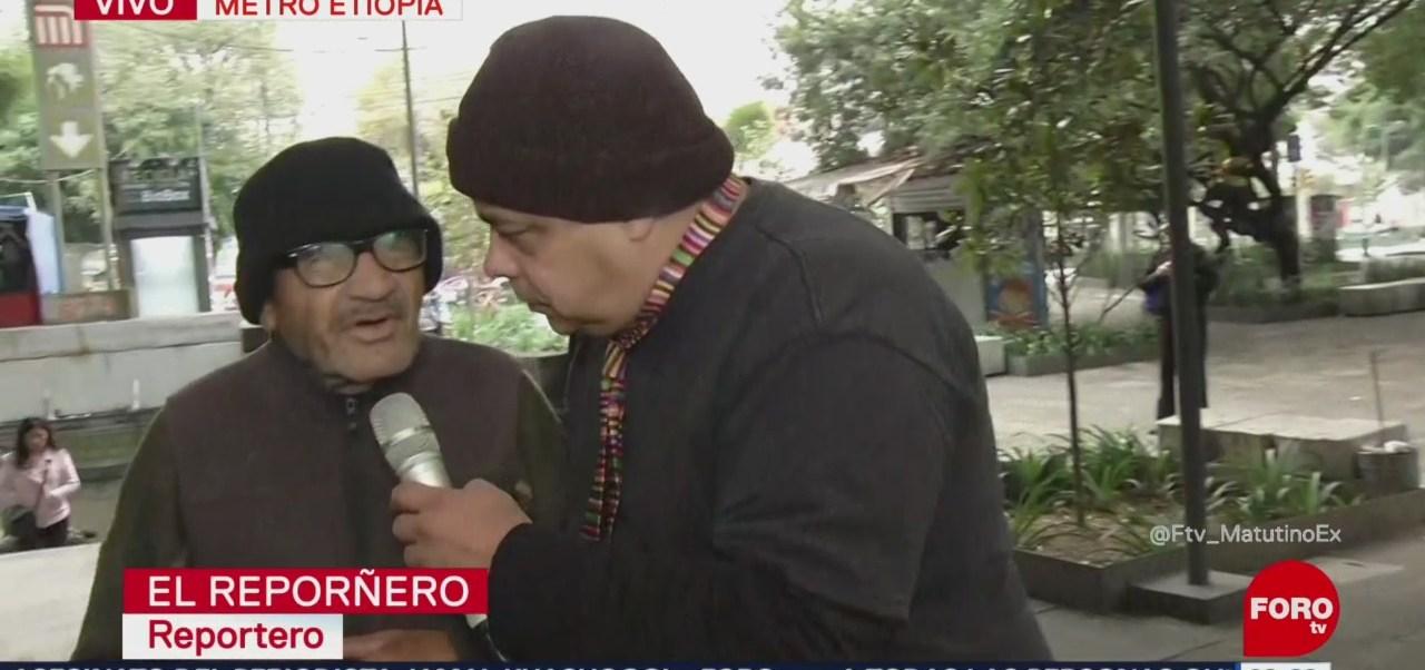 'El Reporñero' entrevista a transeúntes en la estación Etiopía