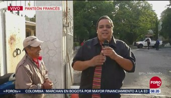 'El Reporñero' visita el Panteón Francés