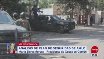 Elena Morera: Guardia Nacional debería estar bajo un mando civil