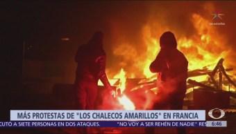 En Francia, siguen las protestas por el gasolinazo