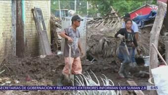 """En Nayarit, el huracán """"WIlla"""" devastó la comunidad Los Sandovales"""