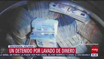 Encuentran Dinero Dentro De Una Lavadora Ámsterdam Autoridades De Ámsterdam, Holanda Encuentran 350 Mil Euros Dentro De Una Lavadora, Lavado De Dinero