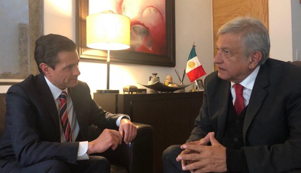 López Obrador invita a cenar a su casa a Peña Nieto