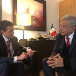 López Obrador y Peña Nieto se reúnen por tercera ocasión