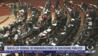 Entra en vigor ley que limita salarios de servidores públicos