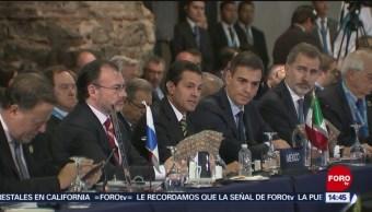 Epn Pacto Mundial Migración Presidente Enrique Peña Nieto Cumbre Iberoamericana