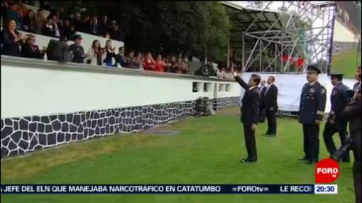 EPN Rinde Homenaje Estado Mayor Presidencial