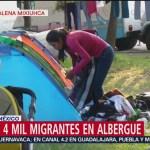 Establecen reglas para prevenir disturbios en albergue para migrantes