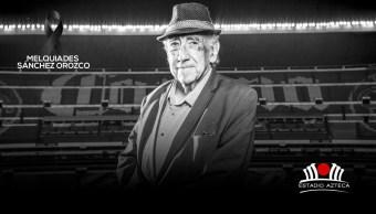 fallece melquiades sanchez voz del estadio azteca