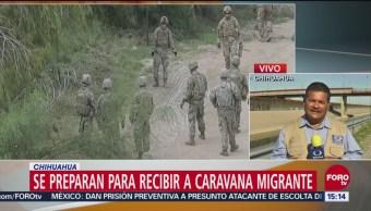 Estados Unidos Realiza Preparativos Llegada De Migrantes