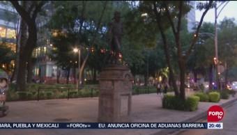 Estatuas Dañadas Paseo De La Reforma CDMX