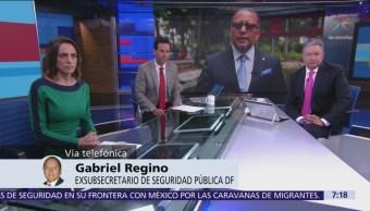 'Estoy dispuesto a que se me investigue', dice Gabriel Regino