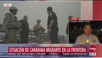 EU Inicia Despliegue Militares Frontera Con México