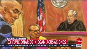Exfuncionarios mexicanos niegan sobornos del Cártel de Sinaloa