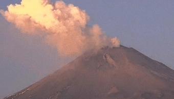 Explosión del Popocatépetl se propaga hacia Puebla