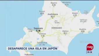 Extra, Extra: Desaparece una isla en Japón