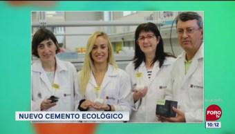 Extra, Extra: Nuevo cemento ecológico