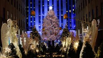 Árbol de Navidad del Centro Rockefeller deslumbra Nueva York