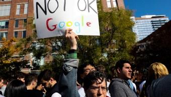 Empleados de Google realizan paro en protesta a acoso sexual