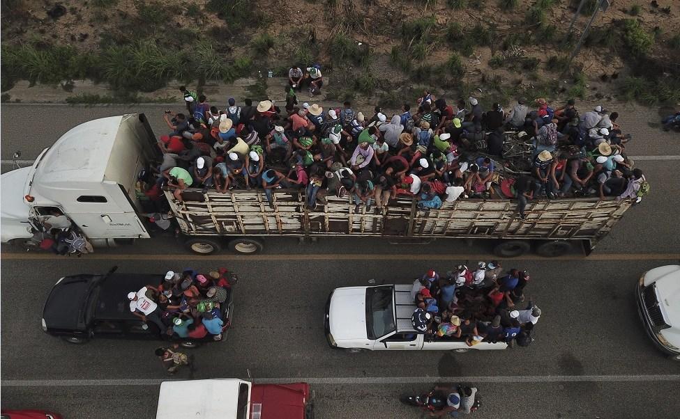 INM detiene a 250 migrantes en Oaxaca y Chiapas