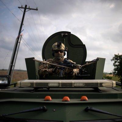 Patrulla Fronteriza realiza simulacro para contener migrantes en Texas