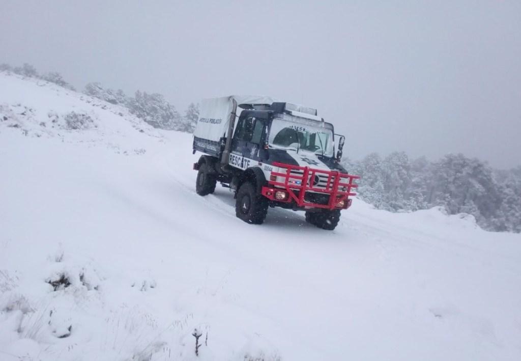 Frente frío 10 'congela' a gran parte de México