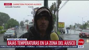 Frío afecta a comerciantes ambulantes en la CDMX