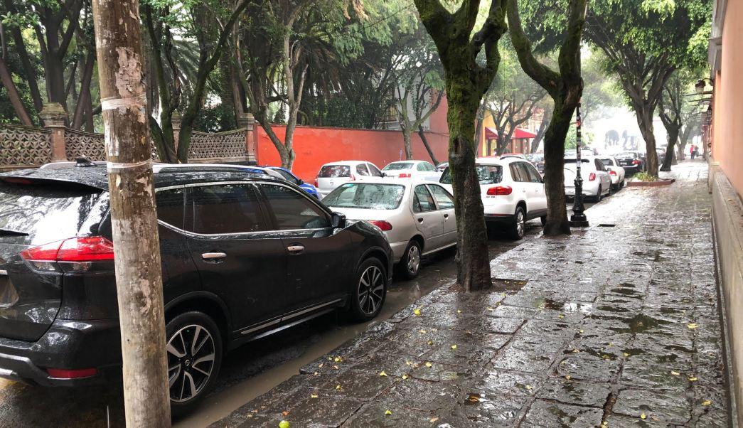 Frío en CDMX aleja a las personas de las calles
