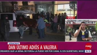 Funeral De Valeria, Hija De La Diputada, Carmen Medel Fuerzas Federales Del Estado De Veracruz Vigilan Los Velatorios