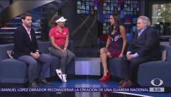 Gabriela López, golfista mexicana y campeona de la LPGA, en Al Aire