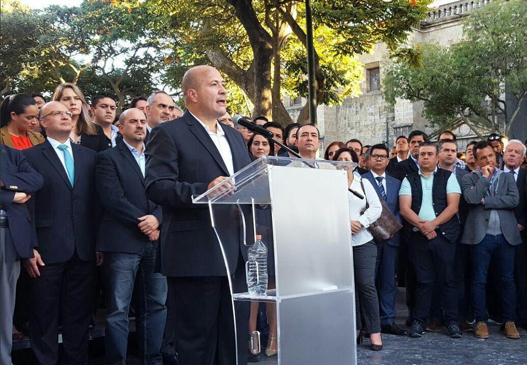 Gobernador electo Jalisco: No es chantaje pedir respeto al pacto federal