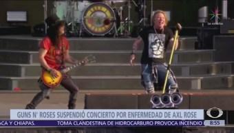 Guns N' Roses concluye concierto antes de lo previsto en Emiratos Árabes