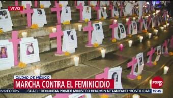 Ofrenda Víctimas Feminicidios Ángel De Independencia